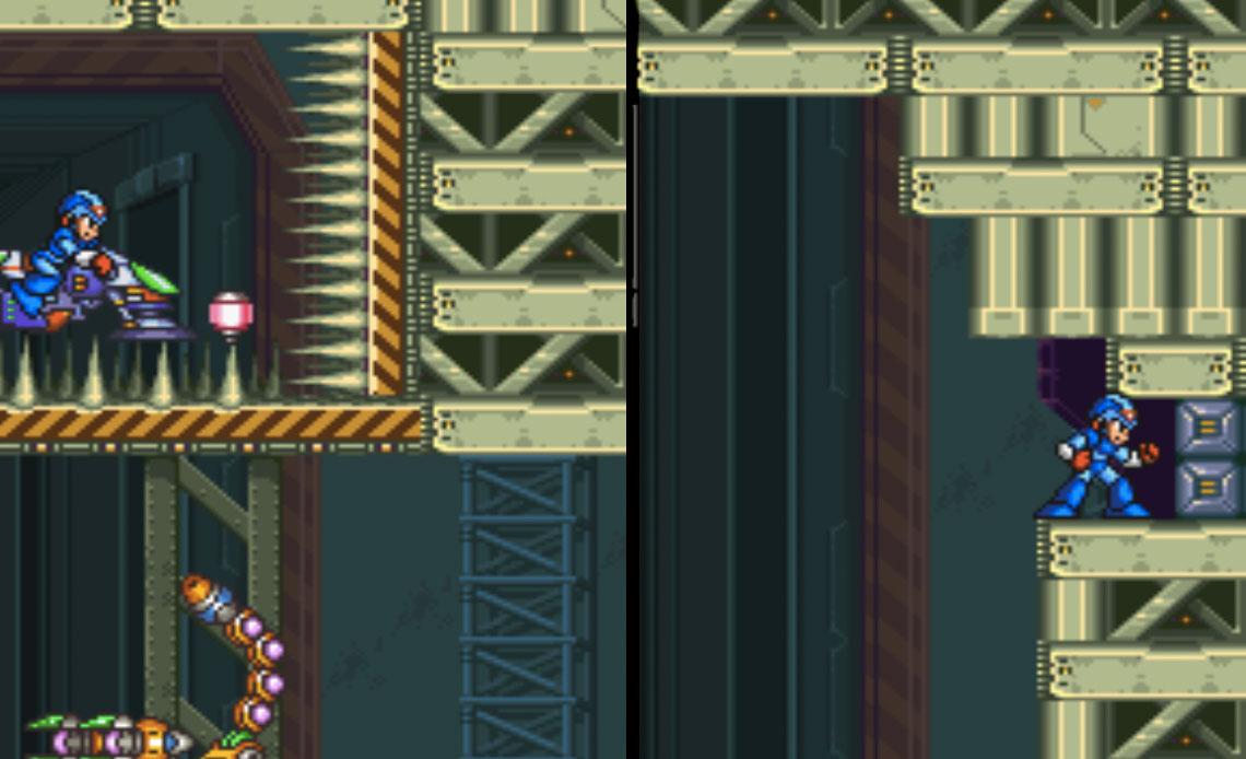 Desert Base Stage Mega Man X22
