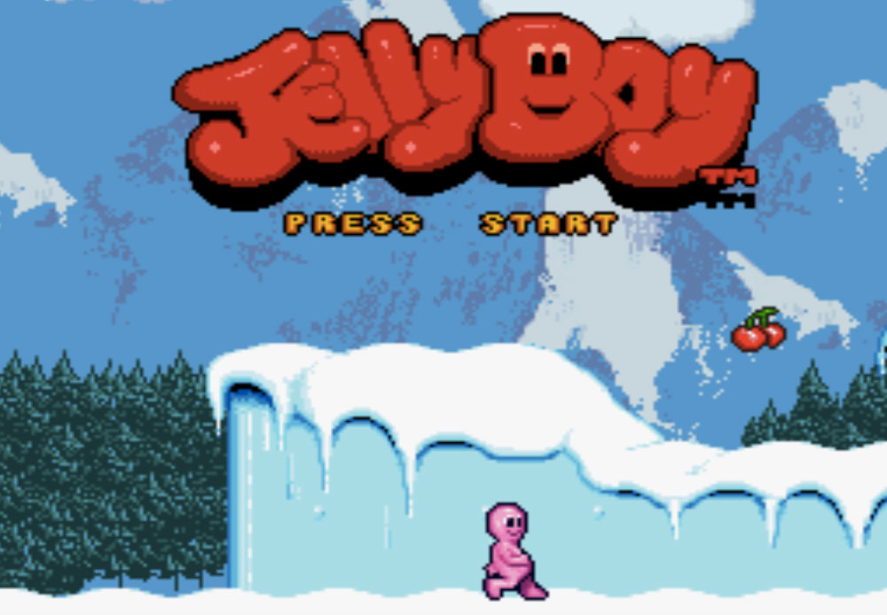game snes hay phần 16 Jelly Boy