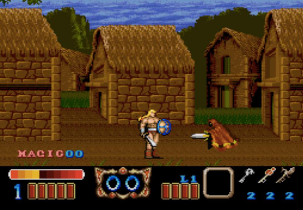 Magic Sword game SNES hay phần 20