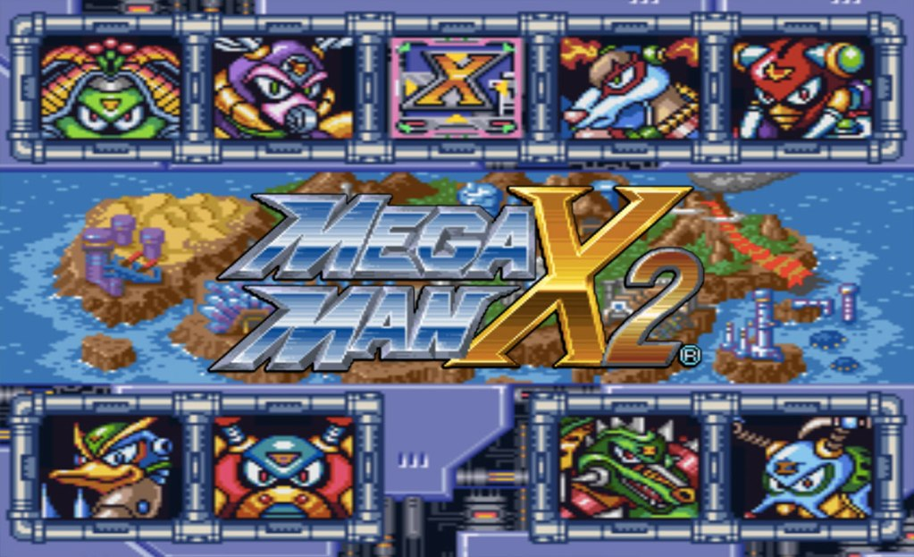 """hướng dẫn """"phá đảo"""" Mega Man X2"""