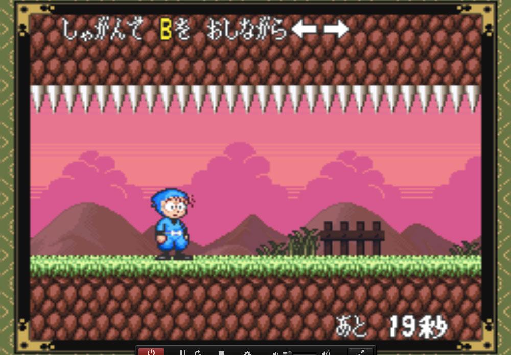 game SNES hay phần 22 Nintama Rantarou