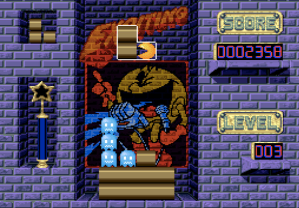 game SNES hay phần 23 Pac-Attack