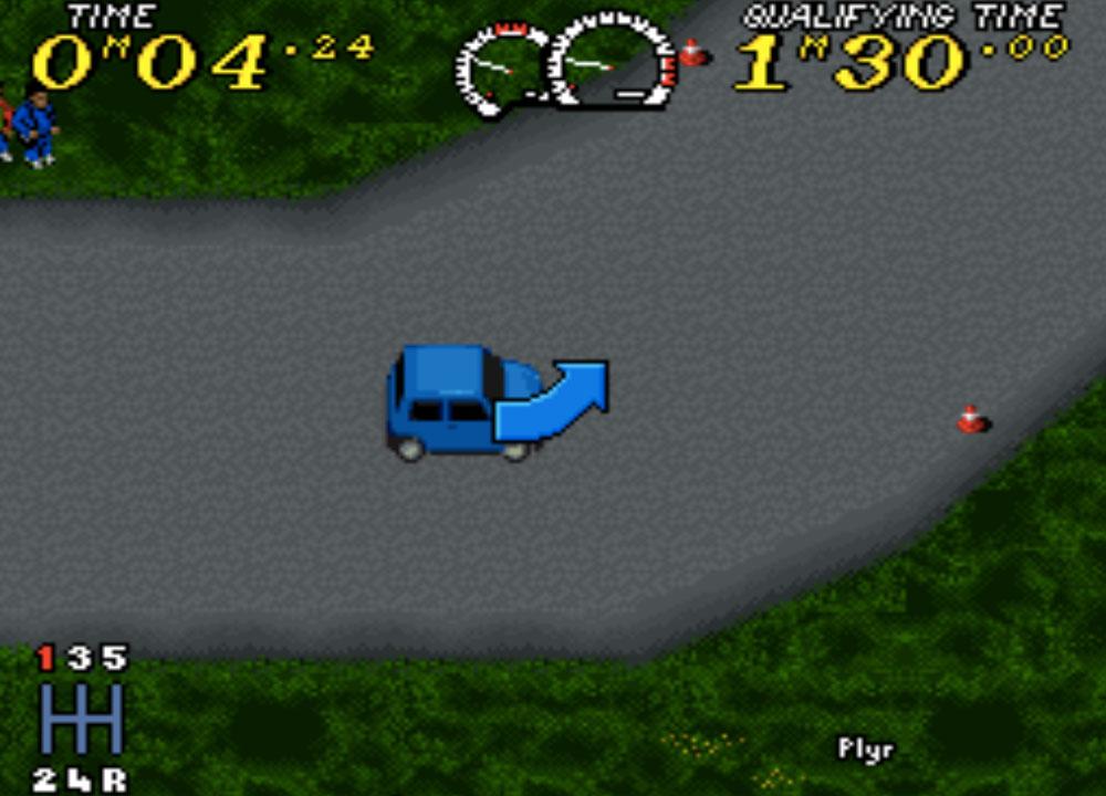 Power Drive game SNES hay phần 24