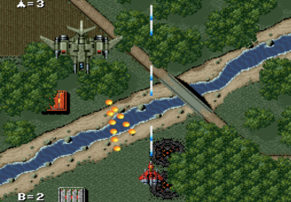 Raiden Trad game SNES hay phần 25