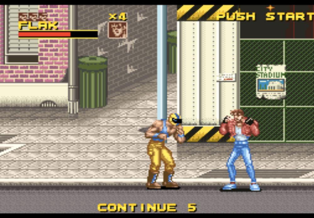 game SNES hay phần 25 Rival Turf