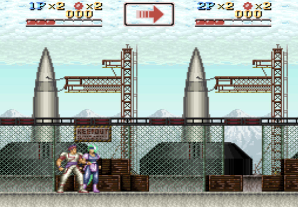 Run Saber game SNES hay phần 25