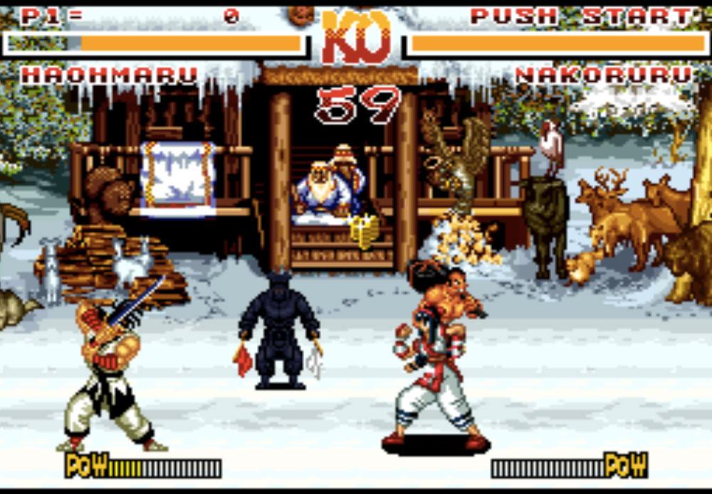 Samurai Shodown game SNES hay phần 26