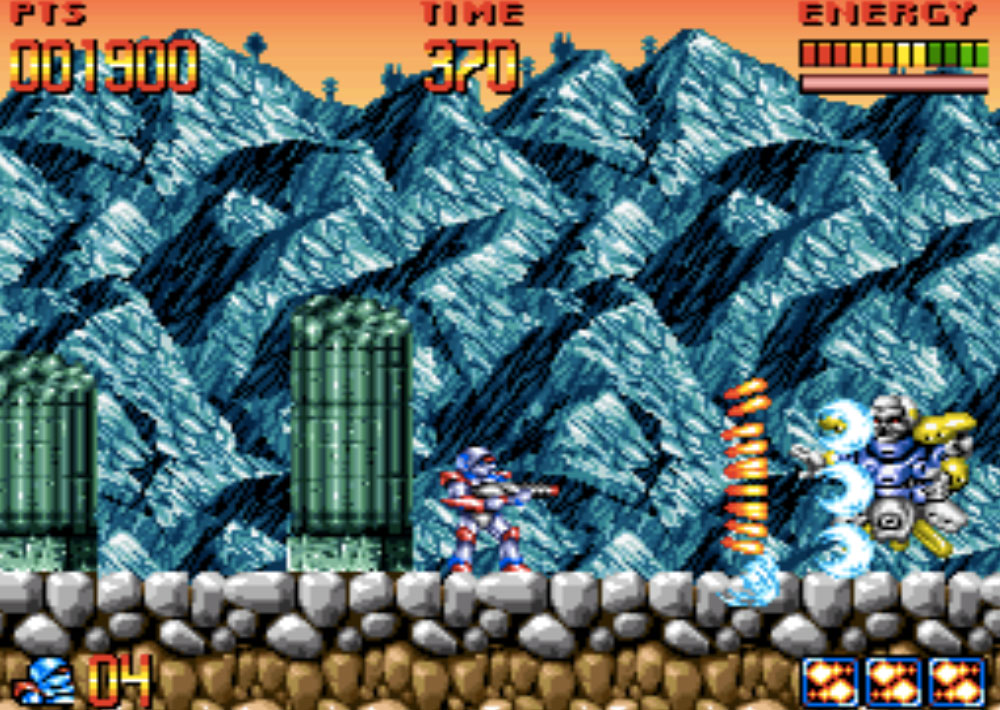 Super Turrican game SNES hay phần 31