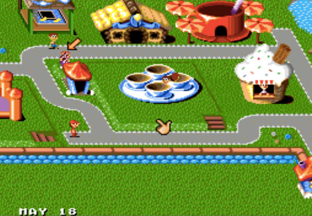 Theme Park game SNES hay phần 32
