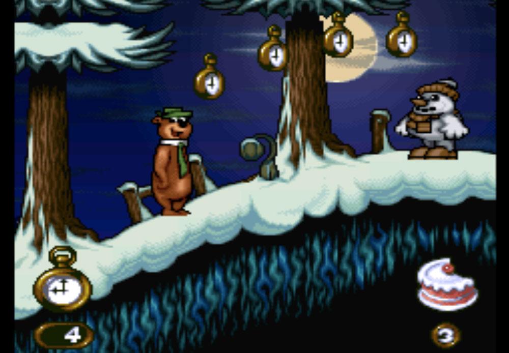 Yogi Bear game SNES hay phần 34