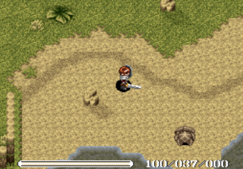 Ys V - Lost Kefin, Kingdom of Sand