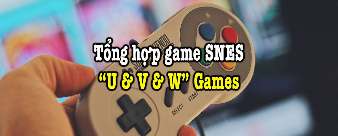 game SNES hay phần 33