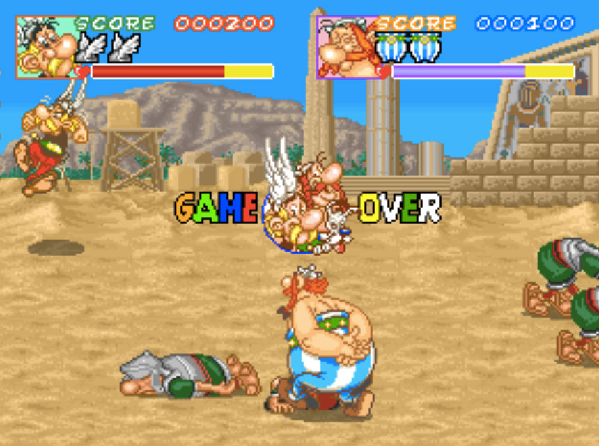 Asterix MAME Games P2