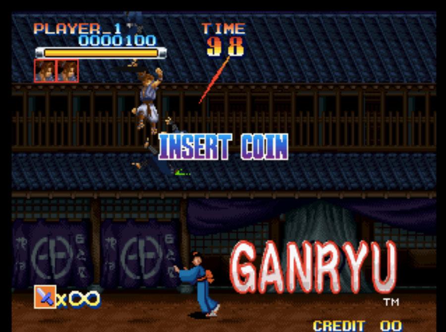 Ganryu Neo Geo Games P2