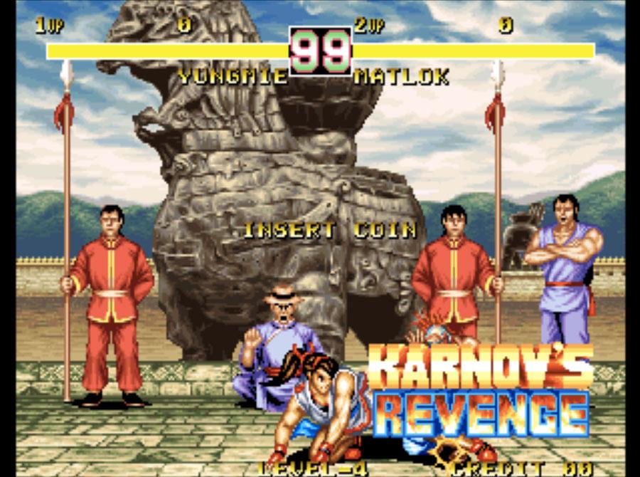 Karnov's Revenge Neo Geo Games P2