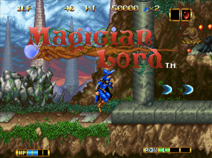 Magician Lord Neo Geo Games P2