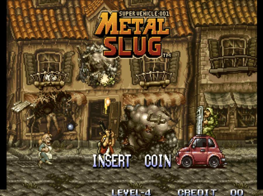 Metal Slug Neo Geo Games P2
