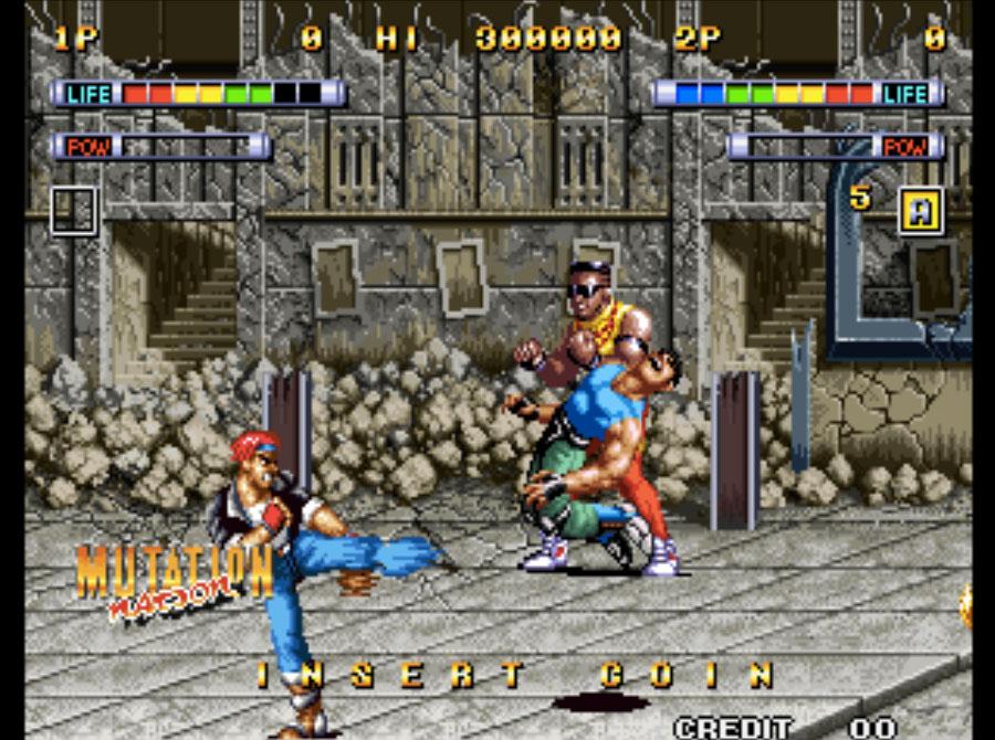 Mutation Nation Neo Geo Games P2