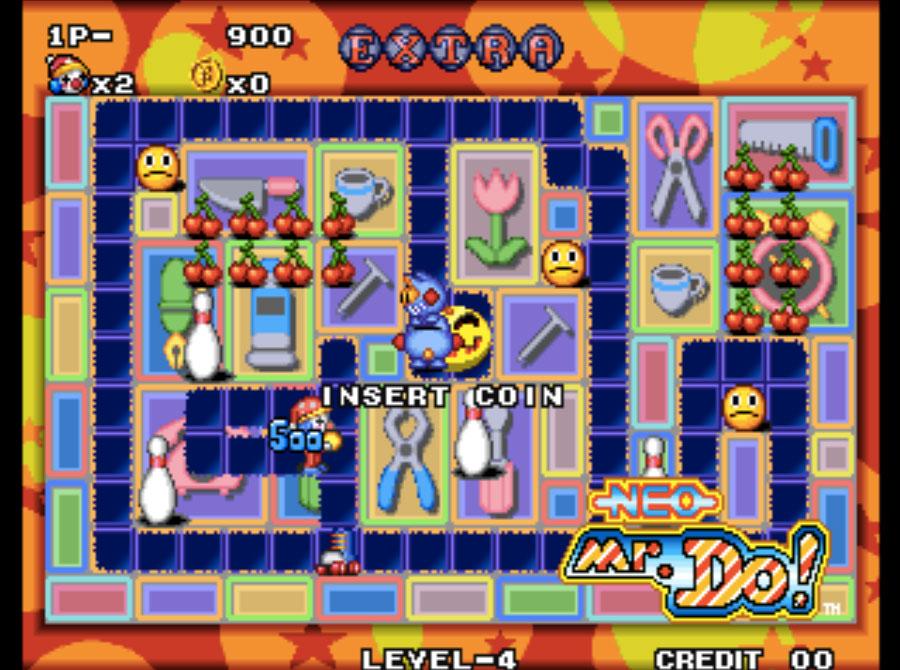Neo Mr. Do! Neo Geo Games P2