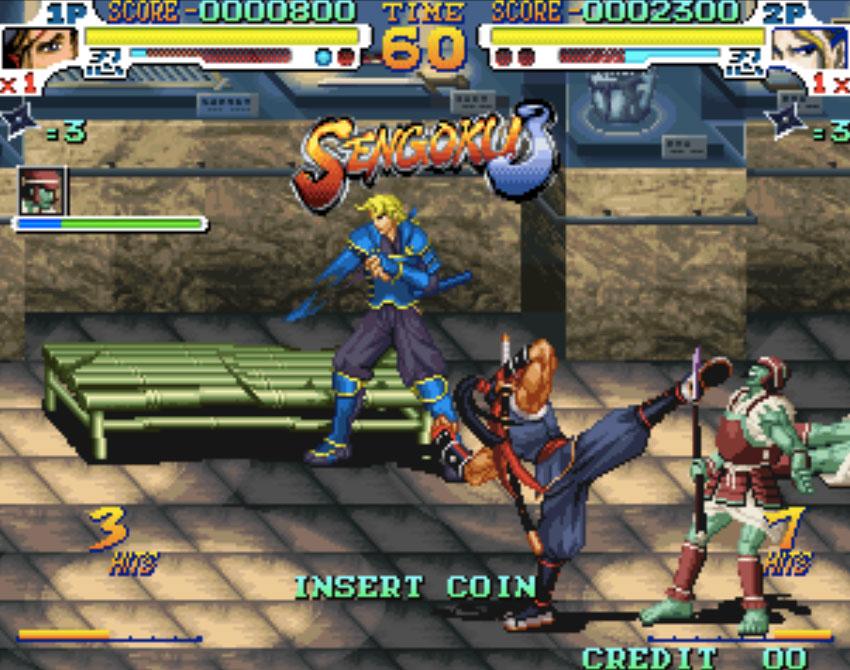 Sengoku 3 Neo Geo Games P4
