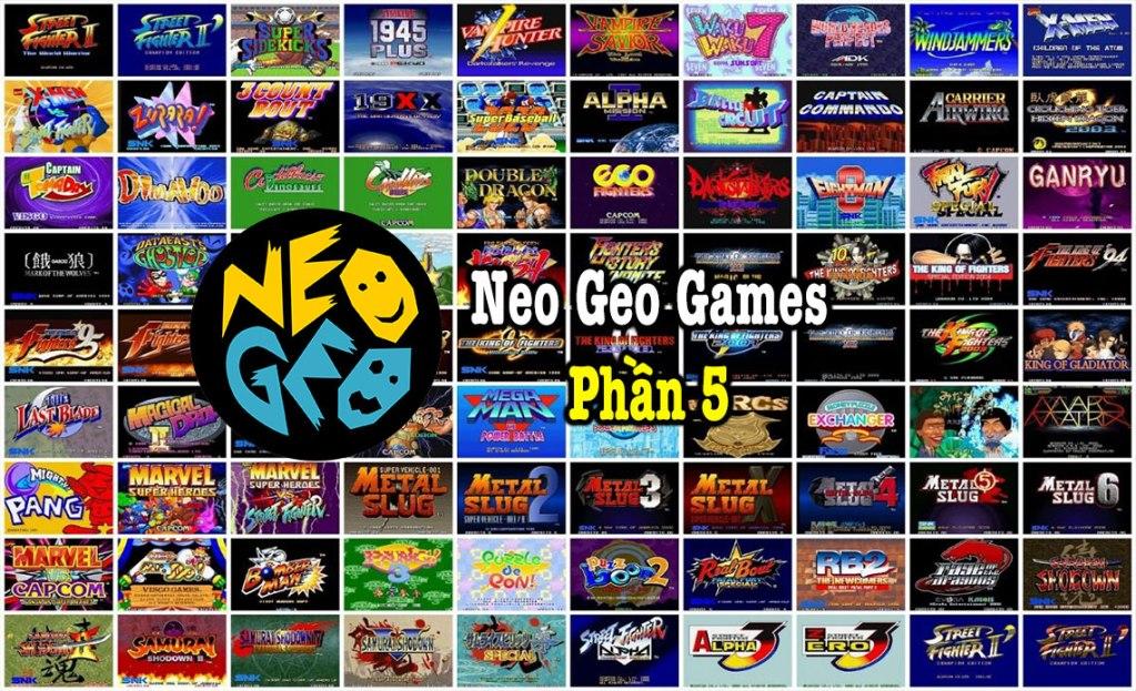 Neo Geo Games P5