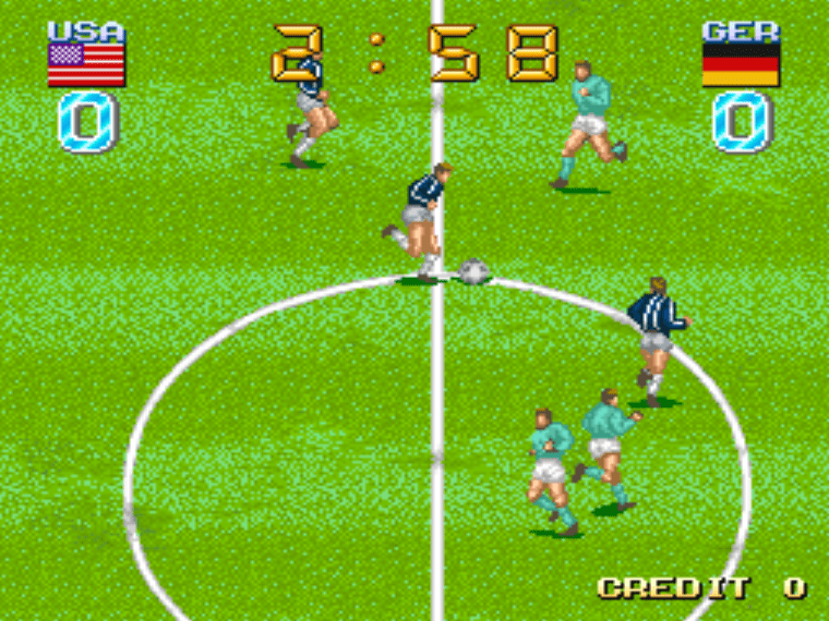 Big Striker MAME Games P3