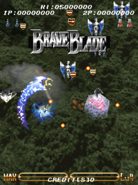 Brave Blade MAME Games P4