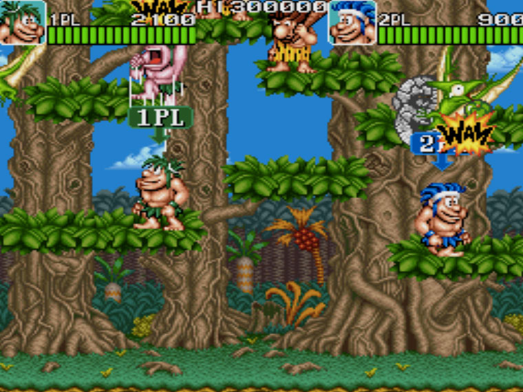 Caveman Ninja MAME Games P5