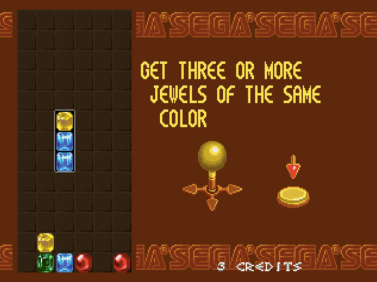 Columns MAME Games P5