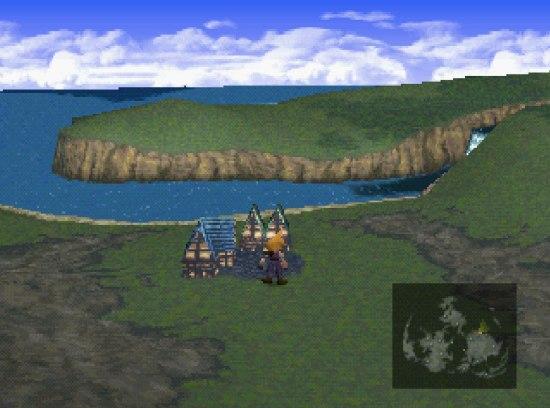 Final Fantasy VII thị trấn Kalm