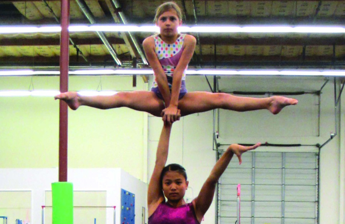 Reaching for the acrobatic gymnastics national