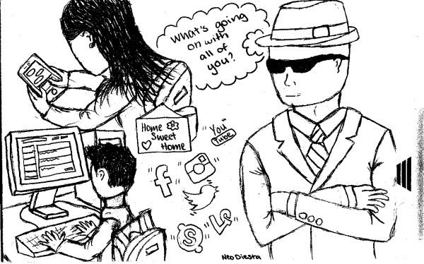 Cartoon by Neo Diesta