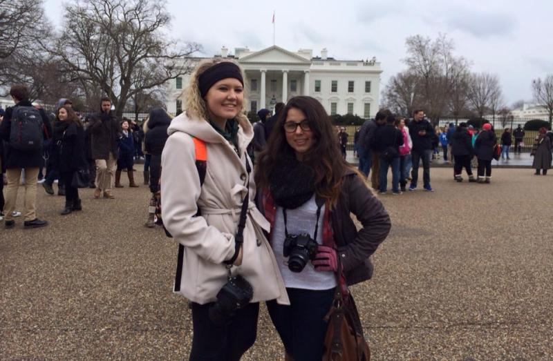 Olympian greats Jes Smith and Maia  Samboy take their readers on the Close Up trip to Washington, D.C.