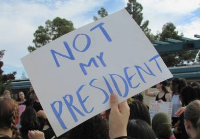 """Not my president,"" Trojans insist"