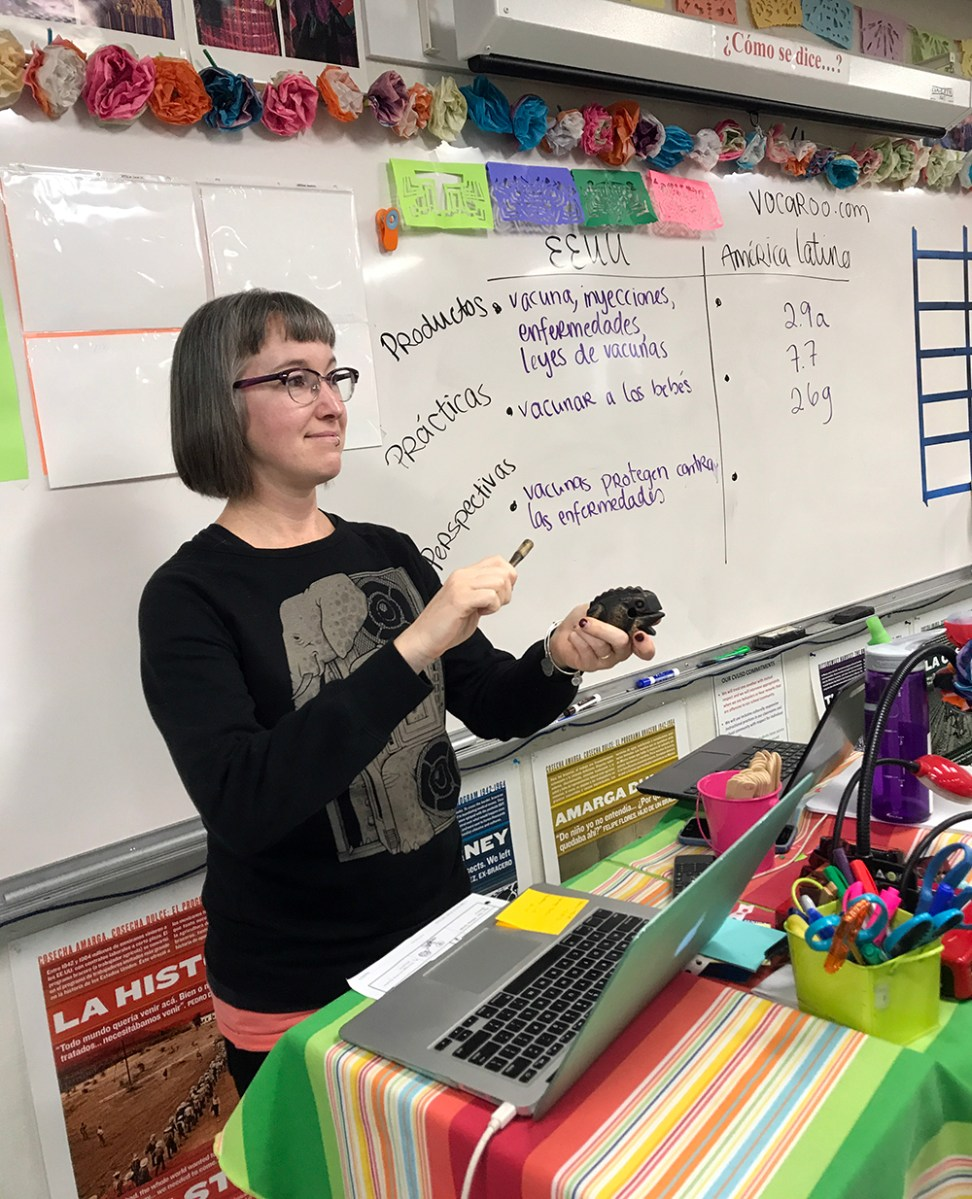 Teacher Feature: Tigerman inspires Spanish students