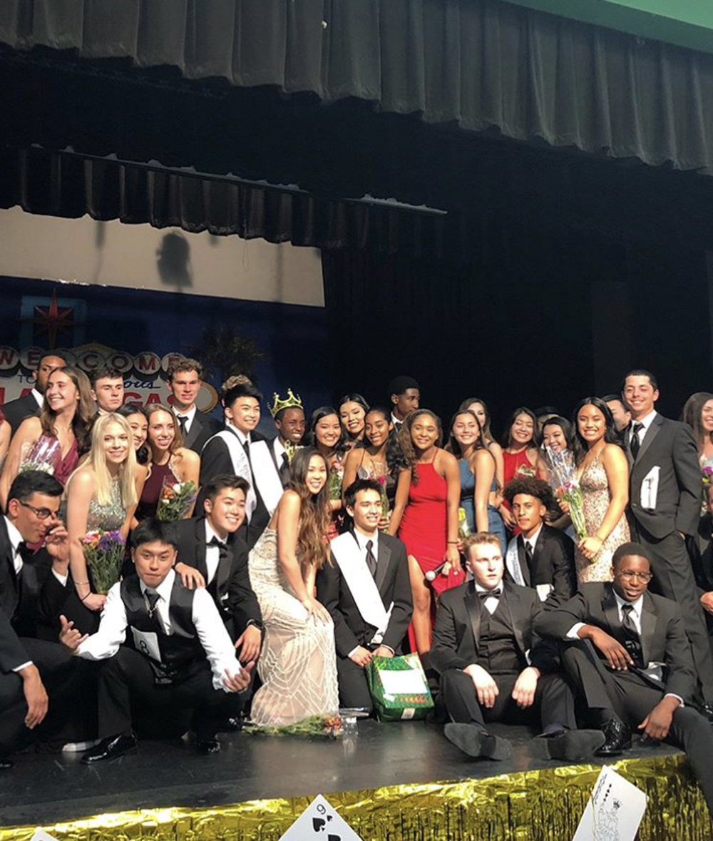 Spirit squad hosts annual Mr. CV