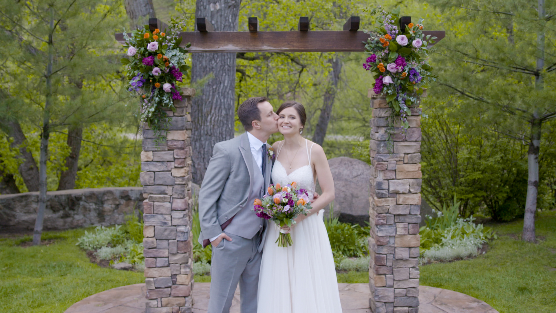 Whitney & Adam Wedding Ceremony at Wedgewood Boulder Creek