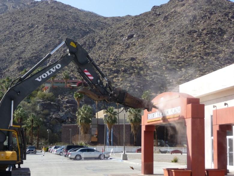 images/Desert Fashion Plaza Demolition Ceremony on Feb 7 2013/demolition-begins_8453649129_o