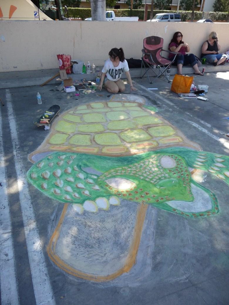 images/Palm Springs Chalk Art Festival 2013/turtle_8562400907_o