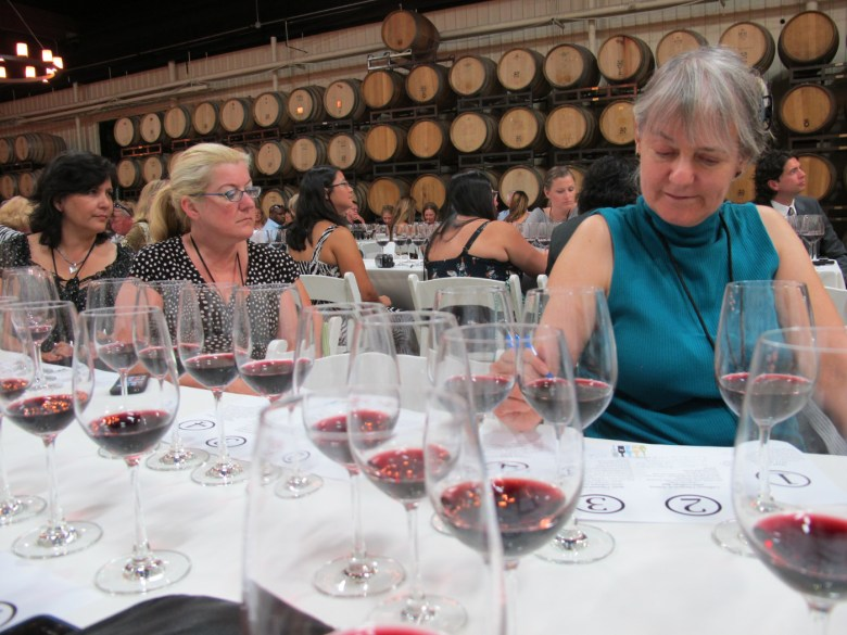 images/Temecula Valley Winegrowers Association 2013 Crush Event/vip-attendees-in-the-barrel-room_9773681566_o