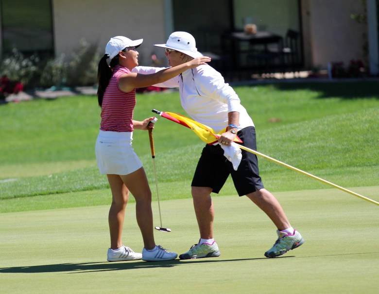 images/Kraft Nabisco Championship Junior Challenge 2014/jiyoon-jang-and-pat-bradley_13585837724_o