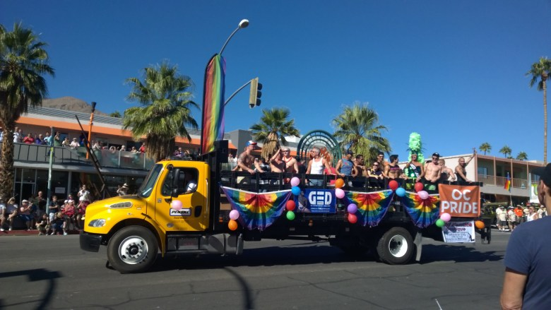 images/Palm Springs Pride Festival 2014/yellow-truck_15573085288_o