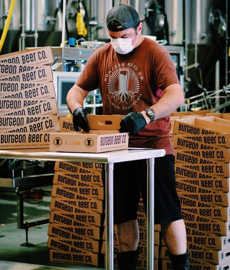 Burgeon Beer Company Facebook