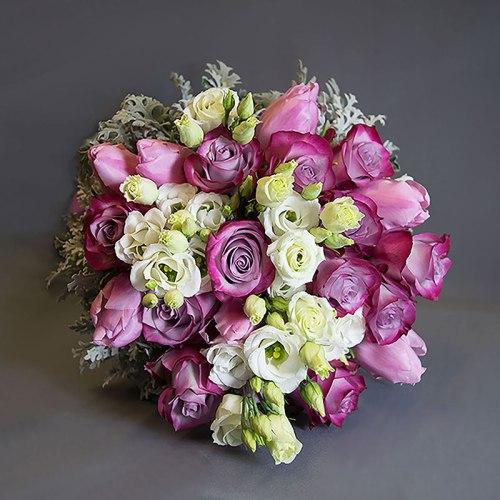 dostava-buket-ruže-lizijantus
