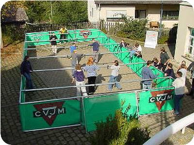 Human Table Soccer