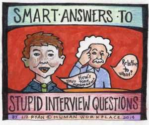 Умные ответы на глупые вопросы для собеседования