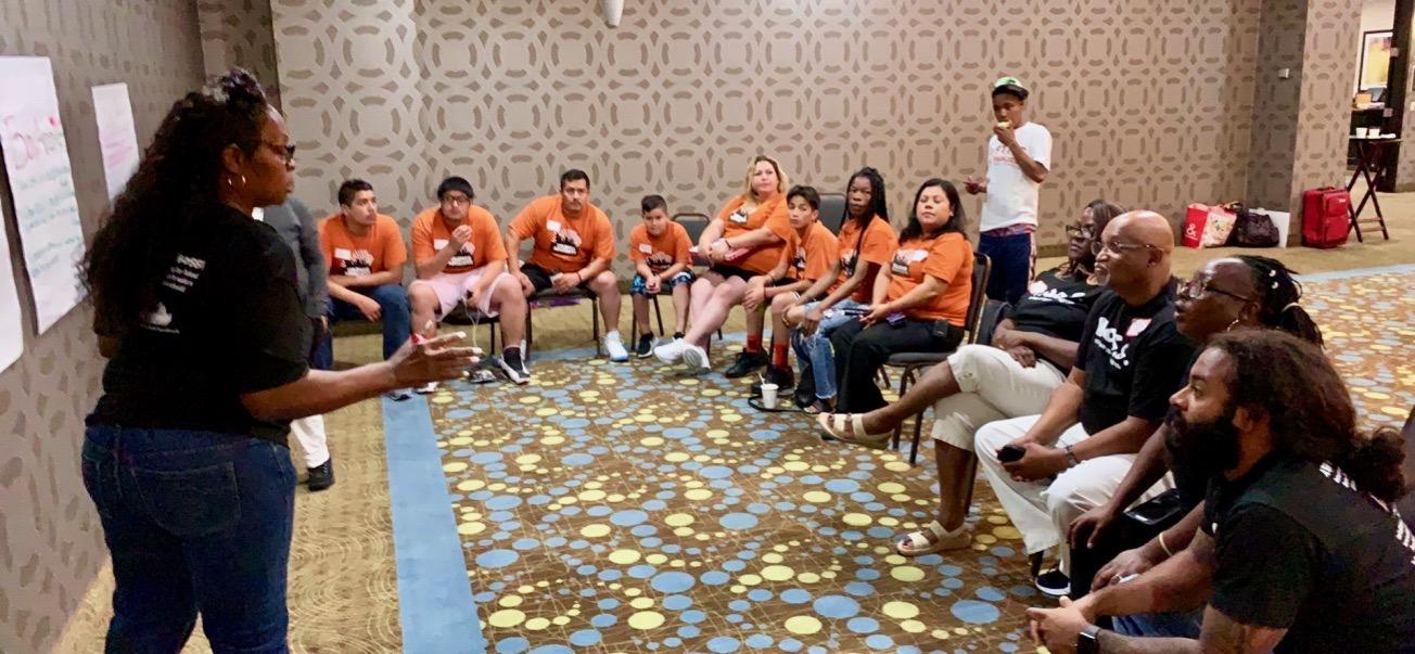 DSC CA Holds Parent Organizing Exchange