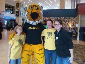 """Mizzou is where the student-led effort to protect wild tigers started. In 1999, Mizzou students formed the nation's first tiger mascot conservation program, """"Mizzou Tigers for Tigers,"""" which eventually led to a national coalition in 2007 recognized by the World Wildlife Fund."""