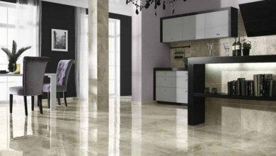 lantai granit mewah