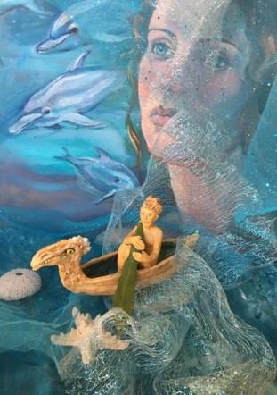Georgia Landau: Swimming with the Dolphins